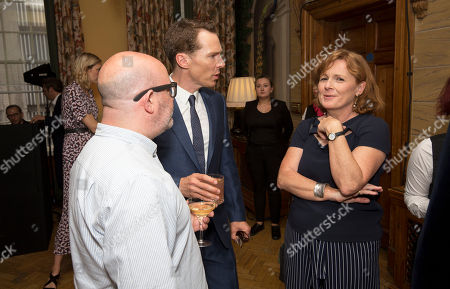 Benedict Cumberbatch with Kirsty Laing & Boyd Hilton