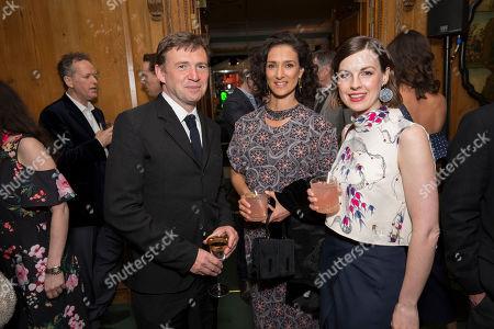 (L-R) David Nicholls, Indira Varma and Anna Madeley