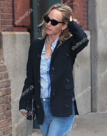 Editorial photo of Amber Valetta out and about, New York, USA - 09 May 2018