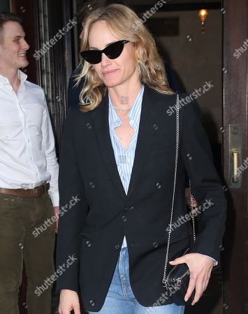 Editorial image of Amber Valetta out and about, New York, USA - 09 May 2018
