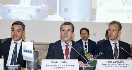 Stock Image of Valerio Negro, Vinicio Mati and Paul Bekkers