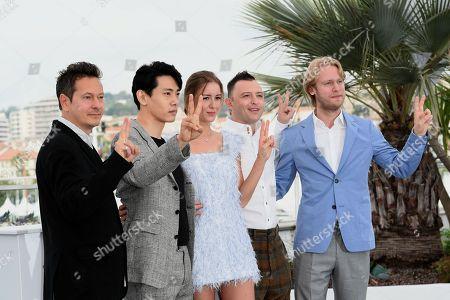 Vladislav Opeliants, Teo Yoo, Irina Starshenbaum, Roma Zver, producer Ilya Stewart