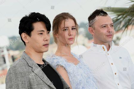 Stock Picture of Teo Yoo, Irina Starshenbaum, Roma Zver
