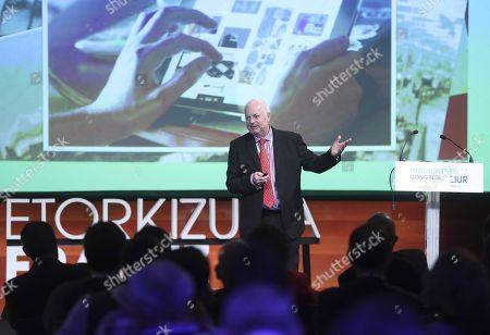 Editorial picture of Gipuzkoa Industrysec'18 Congress, San Sebastian, Spain - 10 May 2018