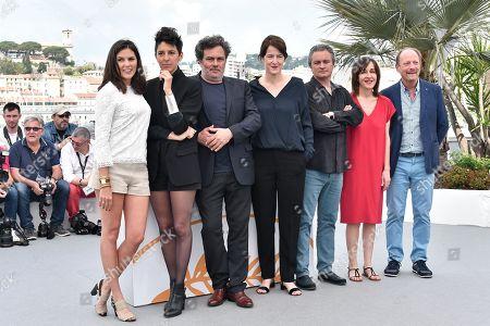 Stock Photo of Ursula Meier, Marie Amachoukeli-Barsacq, Jean-Marie Larieu, Arnaud Larrieu, Iris Brey, Sylvain Fage, Jeanne Lapoirie
