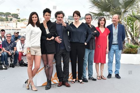 Editorial picture of Camera d'Or photocall, 71st Cannes Film Festival, France - 10 May 2018