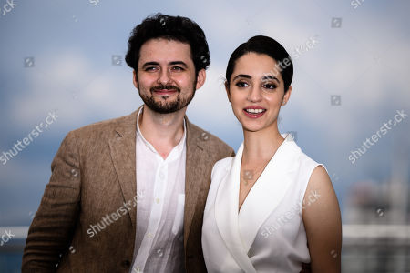 Egyptian director A.B Shawky (L) and producer Elisabeth Shawky-Arneitz pose during the photocall for 'Yomeddine' at the 71st annual Cannes Film Festival, in Cannes, France, 10 May 2018. The movie is presented in the Official Competition of the festival which runs from 08 to 19 May.