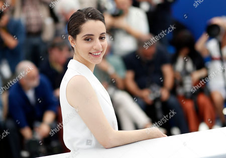 Producer Elisabeth Shawky-Arneitz poses during the photocall for 'Yomeddine' at the 71st annual Cannes Film Festival, in Cannes, France, 10 May 2018. The movie is presented in the Official Competition of the festival which runs from 08 to 19 May.