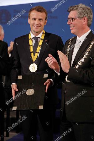 Emmanuel Macron, Marcel Philipp