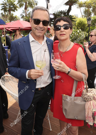 Editorial image of '355' cocktail party with DIRECTV and The Hollywood Reporter on the Grey Goose Terrace, 71st Cannes Film Festival, France - 10 May 2018