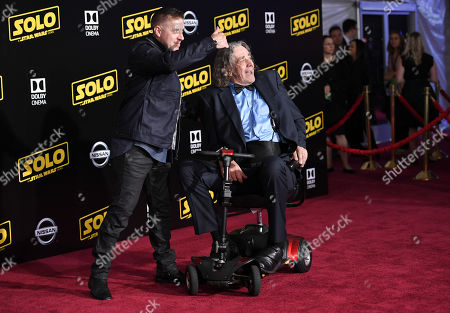 Stock Picture of Ray Park and Peter Mayhew