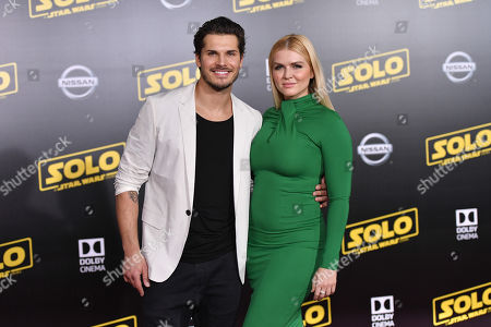 Editorial image of 'Solo: A Star Wars Story' film premiere, Arrivals, Los Angeles, USA - 10 May 2018