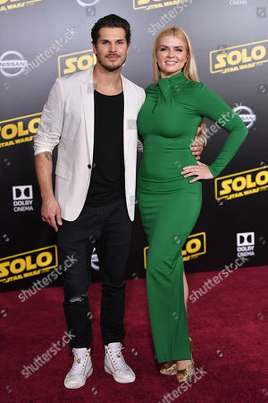 Editorial photo of 'Solo: A Star Wars Story' film premiere, Arrivals, Los Angeles, USA - 10 May 2018