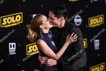 Evelyn Leigh and David Dastmalchian
