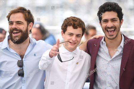 Juan Lanzani, Lorenzo Ferro and Chino Darin