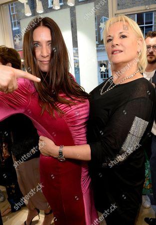 Lisa Snowdon and Caroline Shapiro