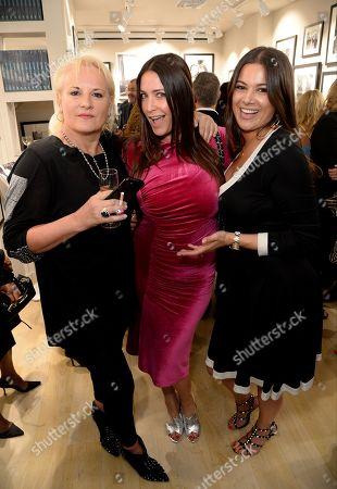 Lisa Snowdon, Caroline Shapiro and Hannah Young