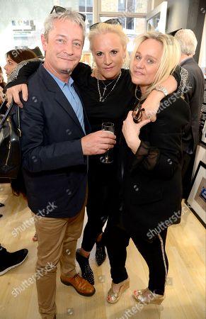 Mark Wood, Caroline Shapiro and Pip Gill