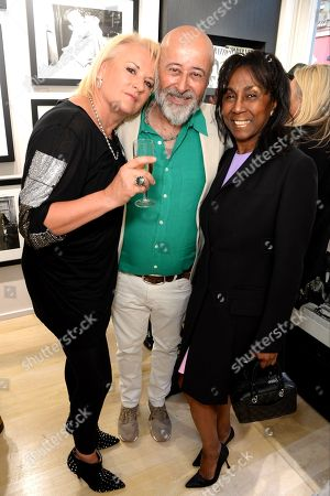 Stock Photo of Caroline Shapiro, Richard Young and Theresa Roberts