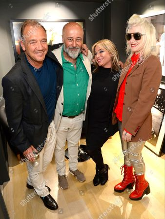 Guest, Richard Young, Brix Smith and Pam Hogg