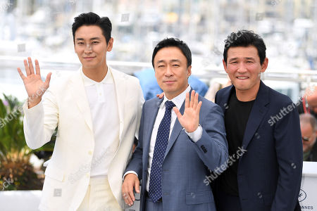 Ju Ji-hoon, Lee Sung-min and Hwang Jung-min