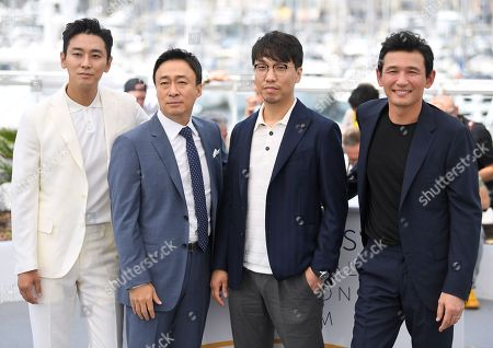 Ju Ji-hoon, Lee Sung-min, Yoon Jong-bin and Hwang Jung-min