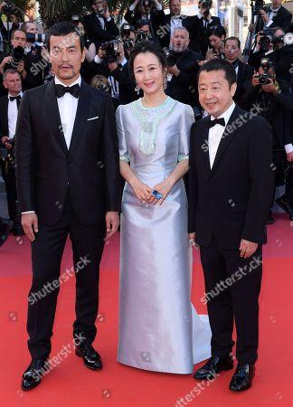 Stock Image of Fan Liao, Tao Zhao and Zhangke Jia