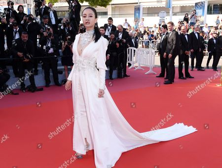 Editorial picture of 'Ash Is Purest White' premiere, 71st Cannes Film Festival, France - 11 May 2018