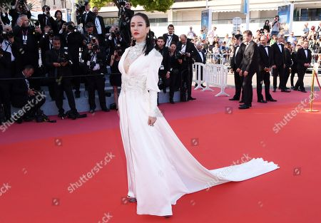 Editorial photo of 'Ash Is Purest White' premiere, 71st Cannes Film Festival, France - 11 May 2018