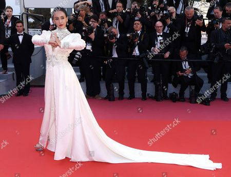 Editorial image of 'Ash Is Purest White' premiere, 71st Cannes Film Festival, France - 11 May 2018