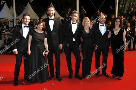 (L-R) Guest, Ewa Puszczynska, Tomasz Kot director Pawel Pawlikowski, Joanna Kulig,  Borys Szyc and Tanya Seghatchian,  and guest arrive for the screening of 'Cold War' during the 71st annual Cannes Film Festival, in Cannes, France, 10 May 2018. arrives for the screening of 'Cold War' during the 71st annual Cannes Film Festival, in Cannes, France, 10 May 2018. The movie is presented in the Official Competition of the festival which runs from 08 to 19 May.