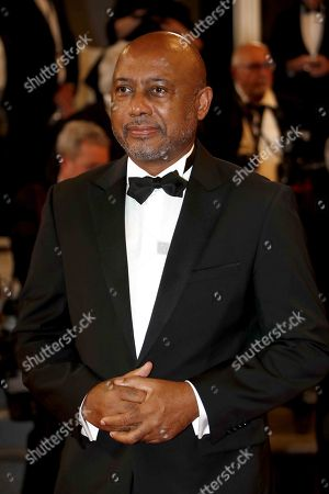 Raoul Peck arrives for the screening of 'Cold War' during the 71st annual Cannes Film Festival, in Cannes, France, 10 May 2018. The movie is presented in the Official Competition of the festival which runs from 08 to 19 May.