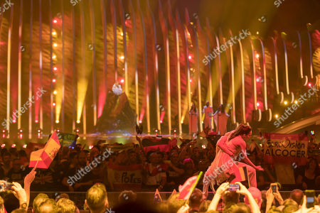 Editorial photo of Semifinals 2, Eurovision Song Contest, Lisbon, Portugal - 10 May 2018