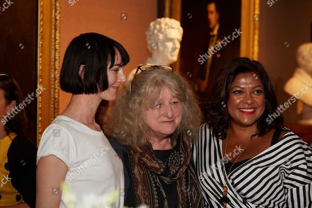 Stock Image of Lorna Tucker, Jenny Beavan and Nishma Robb