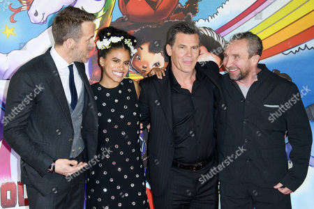 Editorial image of 'Deadpool 2' film photocall, London, UK - 10 May 2018