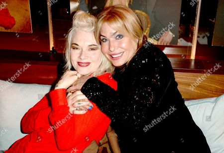 Pam Hogg and Brix Smith