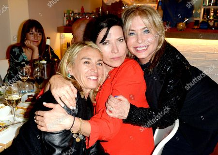 Assia Webster, Ronni Ancona and Brix Smith
