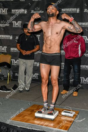 Editorial picture of Premier Boxing Champions Weigh In, Las Vegas, USA - 10 May 2018