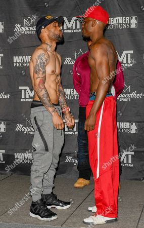 Editorial image of Premier Boxing Champions Weigh In, Las Vegas, USA - 10 May 2018