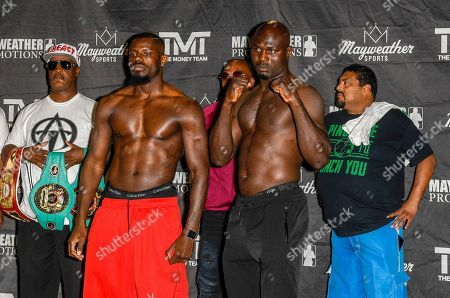 Editorial photo of Premier Boxing Champions Weigh In, Las Vegas, USA - 10 May 2018