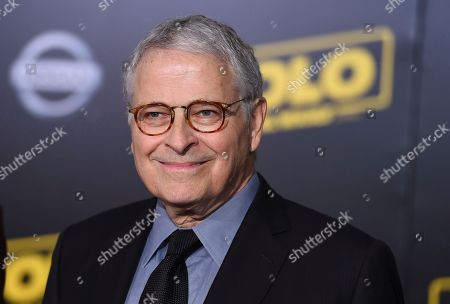 """Lawrence Kasdan arrives at the premiere of """"Solo: A Star Wars Story"""" at El Capitan Theatre, in Los Angeles"""