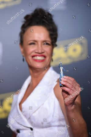 "Rena Owen arrives at the premiere of ""Solo: A Star Wars Story"" at El Capitan Theatre, in Los Angeles"