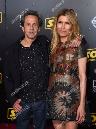"Stock Picture of Brian Grazer, Veronica Smiley. Brian Grazer and Veronica Smiley arrive at the premiere of ""Solo: A Star Wars Story"" at El Capitan Theatre, in Los Angeles"
