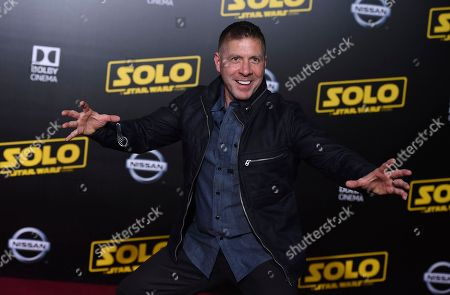 "Ray Park arrives at the premiere of ""Solo: A Star Wars Story"" at El Capitan Theatre, in Los Angeles"