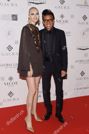 Omar Harfouch and Yulia Lobova