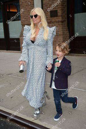 Editorial photo of Jessica Simpson out and about, New York, USA - 10 May 2018