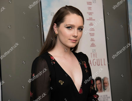 "Amy Forsyth attends a screening of Sony Pictures Classics' ""The Seagull"" at the Elinor Bunin Munroe Film Center, in New York"