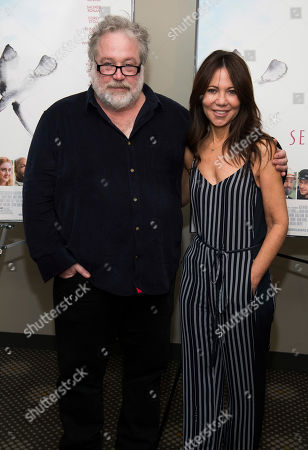 "Tom Hulce, Leslie Urdang. Tom Hulce and Leslie Urdang attend a screening of Sony Pictures Classics' ""The Seagull"" at the Elinor Bunin Munroe Film Center, in New York"