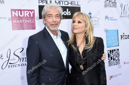 Todd Morgan, Rosanna Arquette. Todd Morgan, left, and Rosanna Arquette attend the 20th Annual From Slavery to Freedom Gala at City Market Social House, in Los Angeles