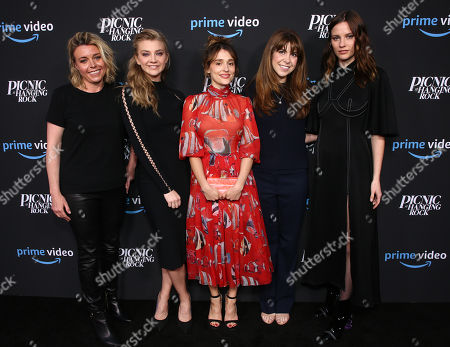 Editorial picture of 'Picnic at Hanging Rock' FYC event, Los Angeles, USA - 10 May 2018